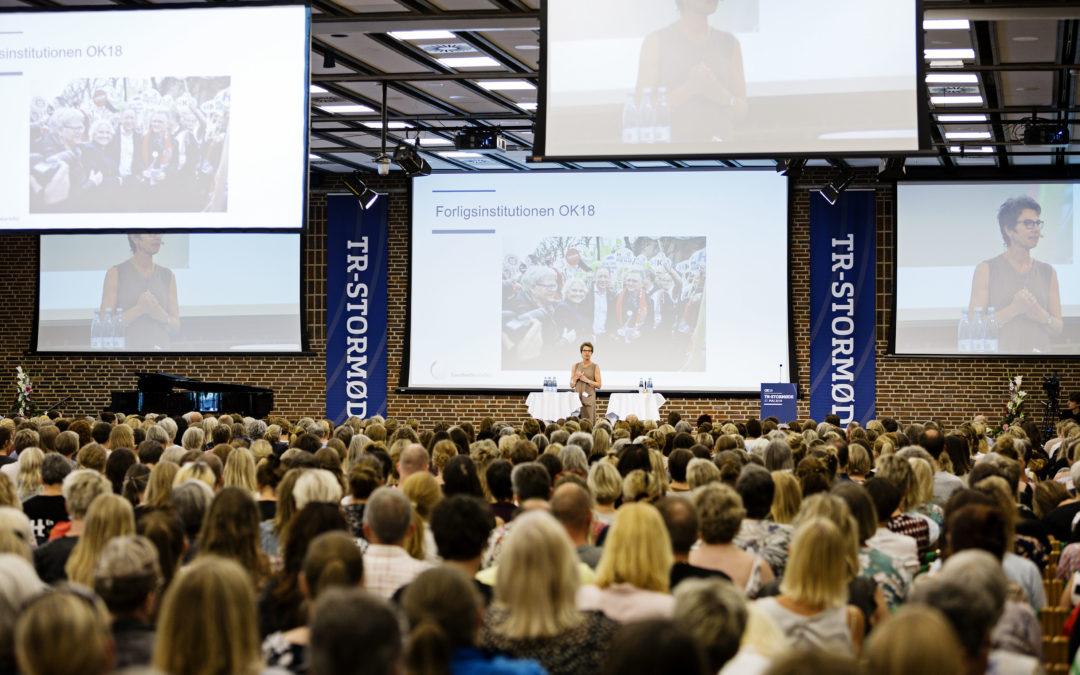 900 tillidsrepræsentanter fra Sundhedskartellet samlet i Nyborg