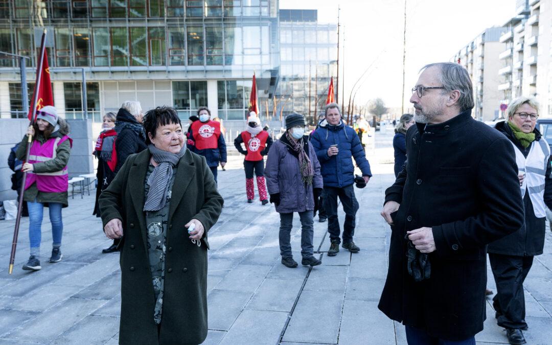 Plads til lønudvikling i aftale med kommuner